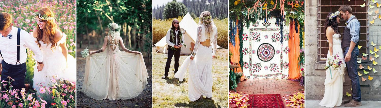 Esküvő bohém stílusban